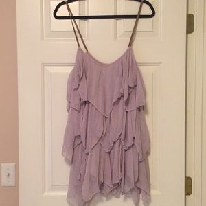 Free People S Fairy swing top mini dress